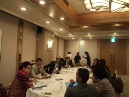 Mr. Albert Mollah in the World Bank's Disability Expert Group Meeting in Japan