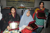Awarded 3 success small entrepreneurs with disabilities